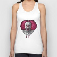 pennywise Tank Tops featuring Pennywise by zinakorotkova