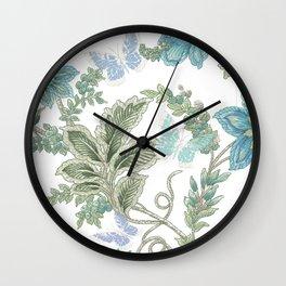 butterfly field Wall Clock