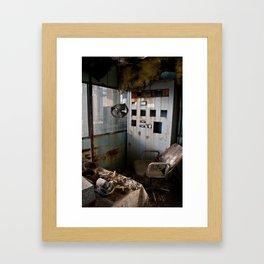 Workspace Framed Art Print