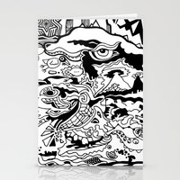 saxophone Stationery Cards featuring Saxophone Dreams by Jay Baldridge