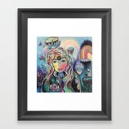 Celestial Dreaming Framed Art Print