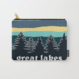 Great Lakes Tree Line Carry-All Pouch