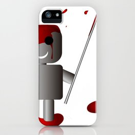 Robo kuudere iPhone Case