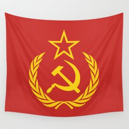 Communist Cold War Flag Wall Tapestry