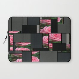 Pink Roses in Anzures 2 Art Rectangles 7 Laptop Sleeve