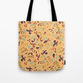 Swirls & Curls Tote Bag