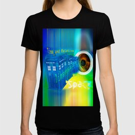 TARDIS Time and Relative Dimension in Space T-shirt