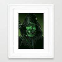 green arrow Framed Art Prints featuring Arrow by Digital Sketch