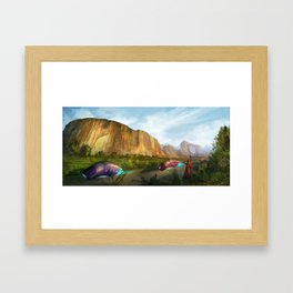 Zuma Rock Framed Art Print