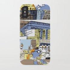NY Stripes iPhone X Slim Case