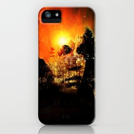 Mysterious Lady iPhone Case