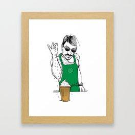 Coffee Bae Framed Art Print