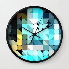IceBlu Wall Clock