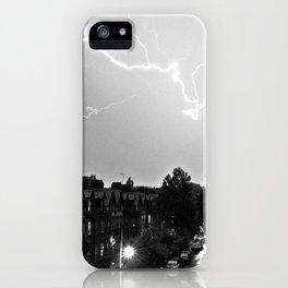 Lightning over Aigburth iPhone Case