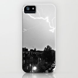 Lightning over Aigburth iPhone Case