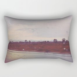 Rainy Travels Rectangular Pillow