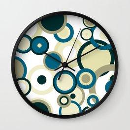 Harmony Circles Wall Clock