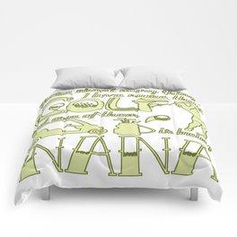 Golf Nana Comforters
