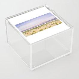 Mojave Desert Acrylic Box
