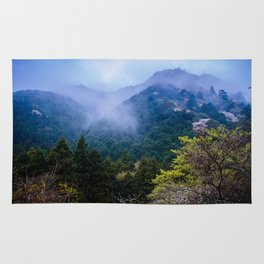 Japanese forest 2 Rug