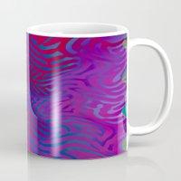 vertigo Mugs featuring Vertigo by RingWaveArt