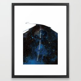 Galaxy Road Framed Art Print