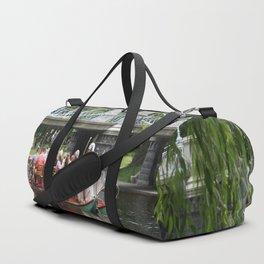 Boston Swan Boat Duffle Bag