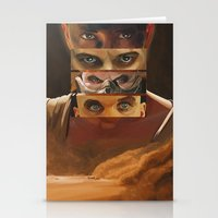 mad max Stationery Cards featuring Mad Max Fury Road by Laura Pulido
