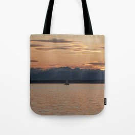 Tranquility Sailing Tote Bag