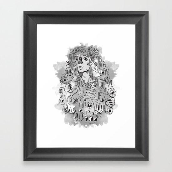 """I Never Learn"" by Jacob Livengood Framed Art Print"