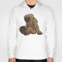 bigfoot Hoodies featuring Bigfoot by Savannah Horrocks