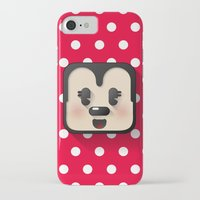minnie mouse iPhone & iPod Cases featuring minnie mouse cutie by designoMatt