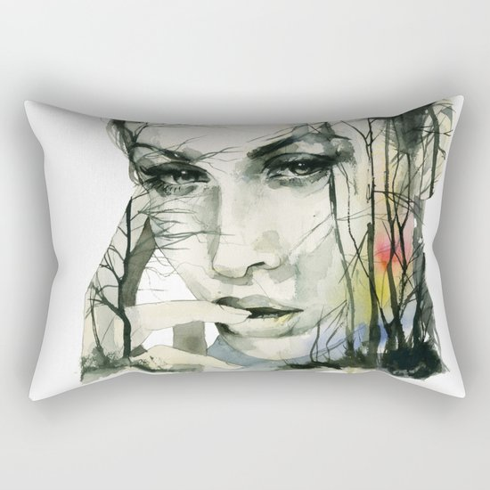 From the ground and the forests Rectangular Pillow