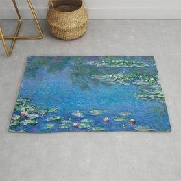 Claude Monet - Water Lilies Rug