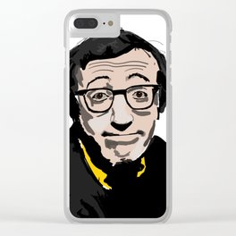 Mr. Woody Allen Clear iPhone Case