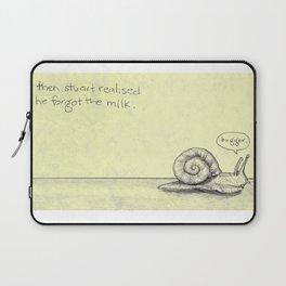 Snail Milk Laptop Sleeve
