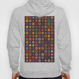 Retro Squares Hoody