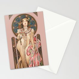 """Alphonse Mucha """"Dry Imperial"""" Stationery Cards"""