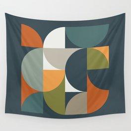 Mid Century Geometric 12/2 Wall Tapestry