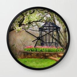 Spring Beauty Wall Clock