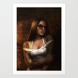 calliope Art Print