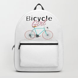 Bicycle Girl – June 12th – 200th Birthday of the Bicycle Backpack