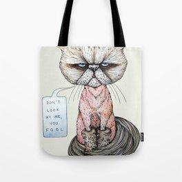 Kitty Got A Haircut Tote Bag