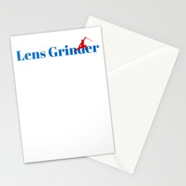 Lens Grinder Ninja in Action Stationery Cards