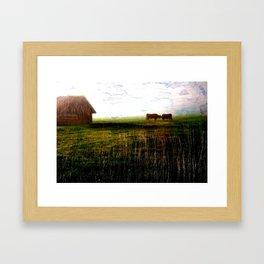 Cows of Bavaria II Framed Art Print