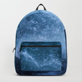 Waves from above Backpack