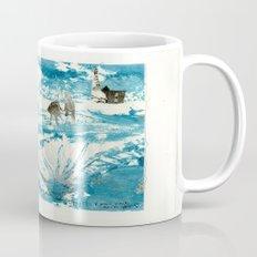 mermaid of Zennor collagraph 1 Mug