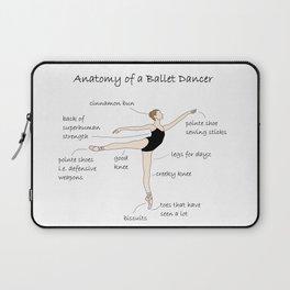 Anatomy of a Ballet Dancer Laptop Sleeve