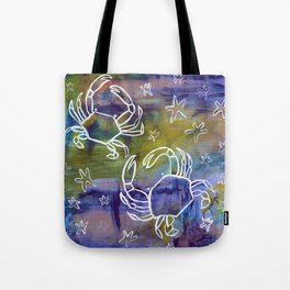 Blue Crab Kind of Day Tote Bag