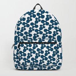 Blue Ripple Backpack